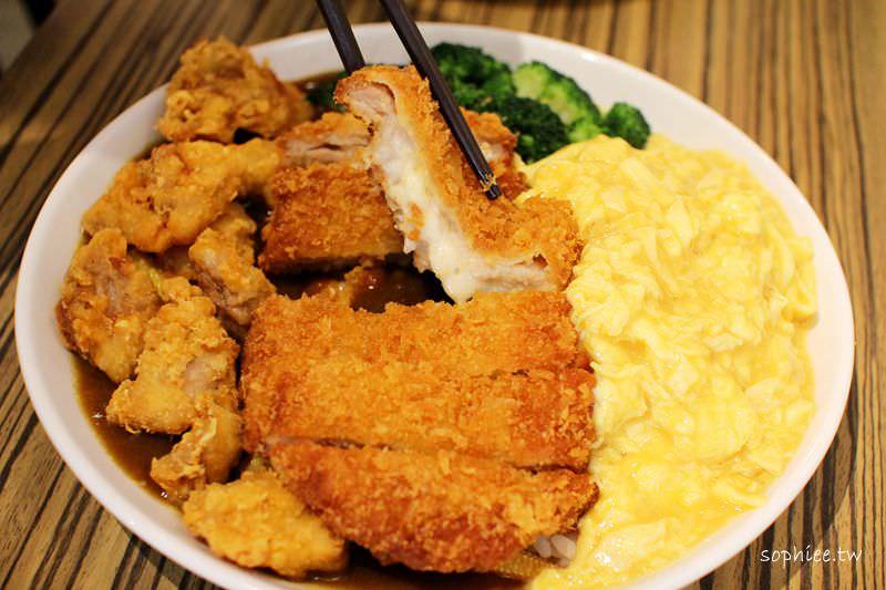 台中美食▌福田屋。安心好食的小店☆自由打造獨一無二的咖哩飯!