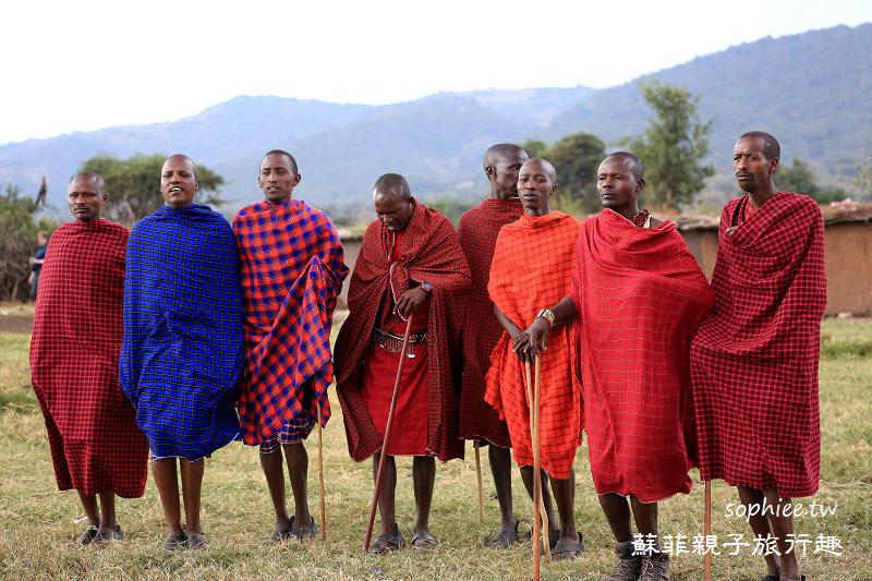 馬賽馬拉▍神秘馬賽族★非洲草原上獅子的剋星/勇猛的獵獅戰士!