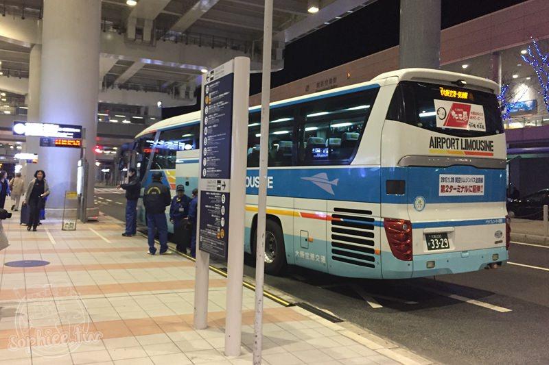 日本旅遊交通▍機場巴士。關西機場至大阪或京都,不用大包小巴進出地鐵站的好選擇!