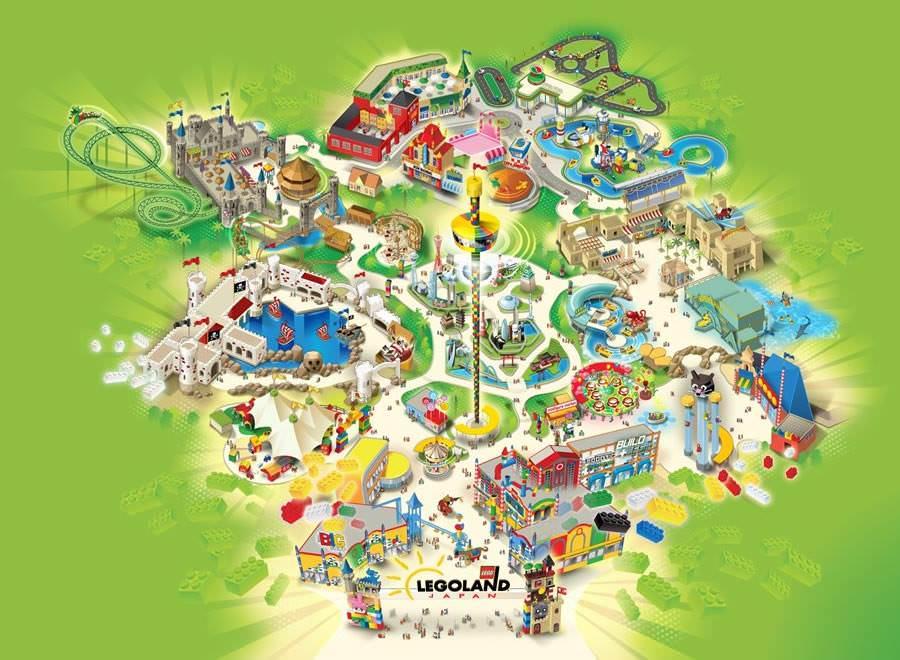 日本樂高樂園▎網上購買優惠門票1日護照。小孩及樂高迷必去!