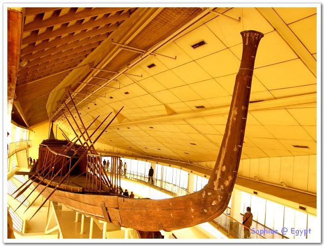【Egypt埃及】吉薩–太陽船博物館