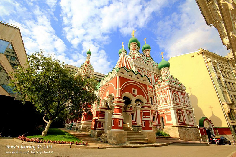 [Russia]莫斯科散散步2(東區)。中央城區(Kitay Gorod)