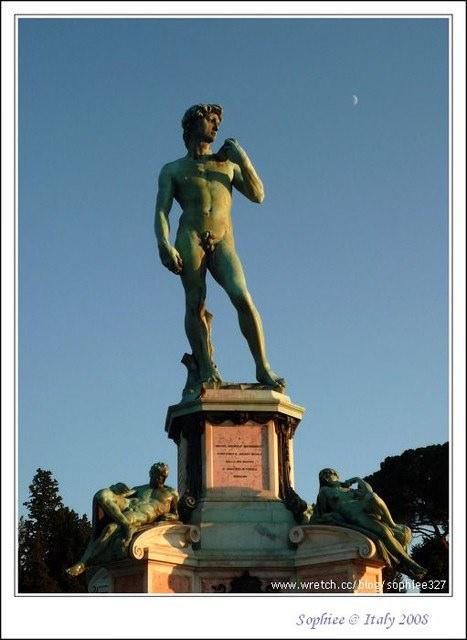 〔Italy義大利〕第五站佛羅倫斯(Florence):站上米開朗基羅廣場