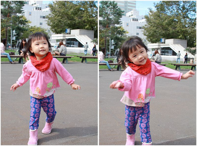 【Hokkaido】札幌。大通公園VS中島公園