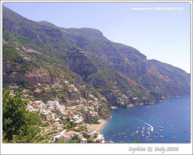 〔Italy義大利〕阿瑪菲海岸–『Positano波吉塔諾』