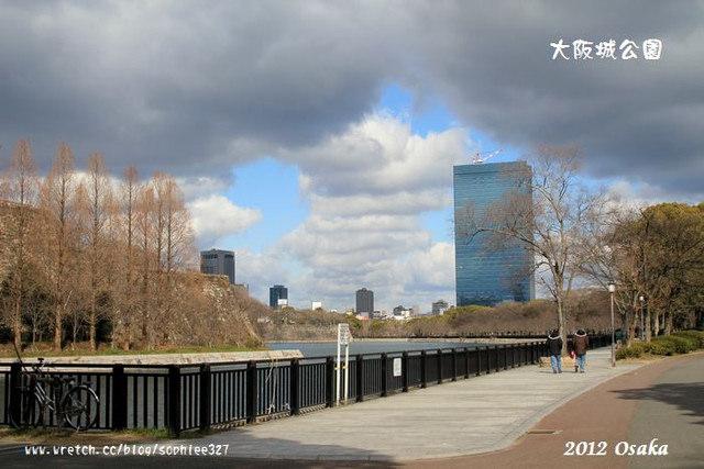 【2012關西】大阪4:大阪城公園好好睡~