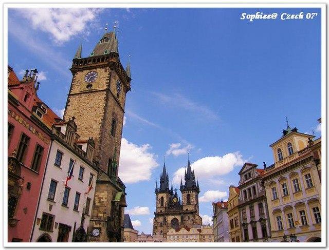 【Prague布拉格】漫步在布拉格舊城廣場~
