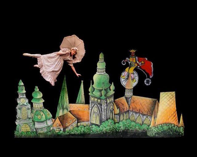 【Prague布拉格】大玩視覺遊戲的另類節目-『黑光劇』與『魔幻表演』