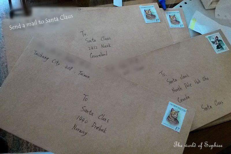 〔4Y8M〕寫信給聖誕老公公!