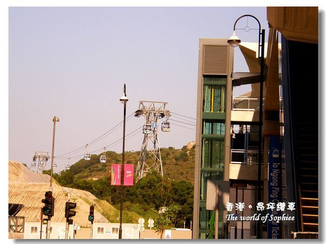 〔香港〕來去昂坪搭纜車!