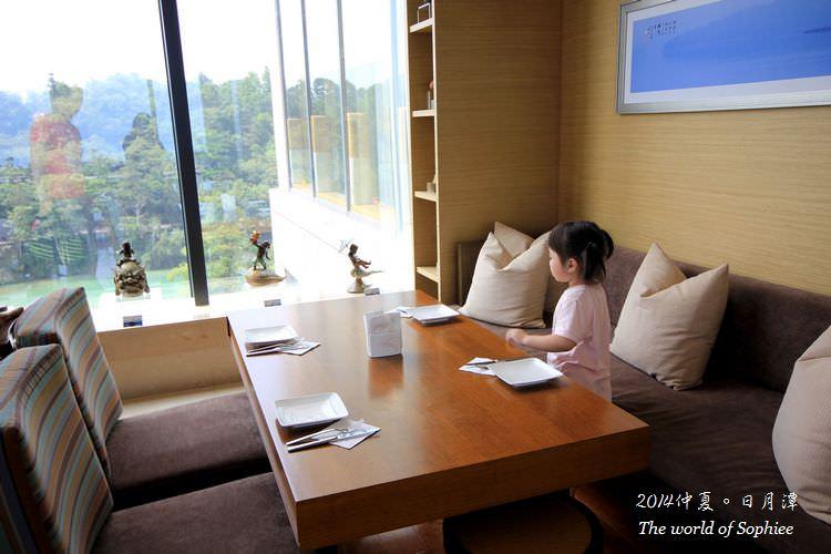 【親子遊】日月潭。雲品酒店(大廳大午茶、兒童遊樂區)