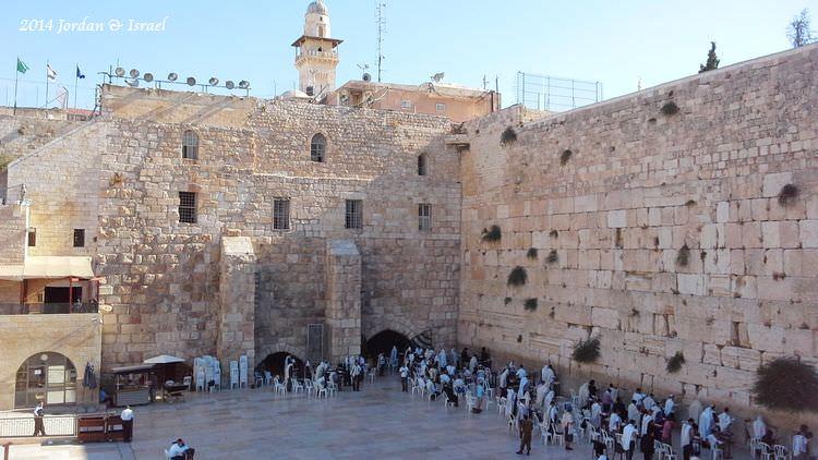 ﹝2014以約遊記﹞Israel。西牆(Western Wall)果然是哭牆!