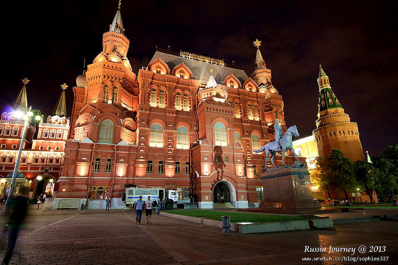 [Russia]莫斯科。紅場的黑夜