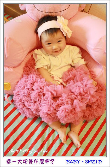 〔8M21D〕遲來的美麗。Chic Baby Rose蓬裙