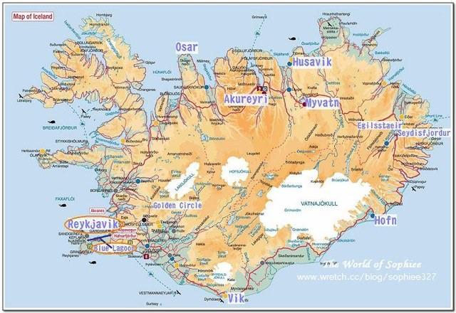 冰島環島★行程表及旅遊資訊★