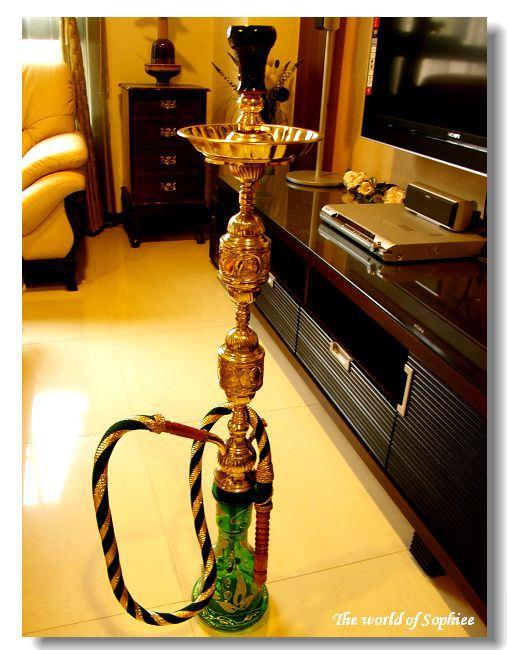 【Egypt埃及】戰利品(2)是的。把水煙壺扛回家了!