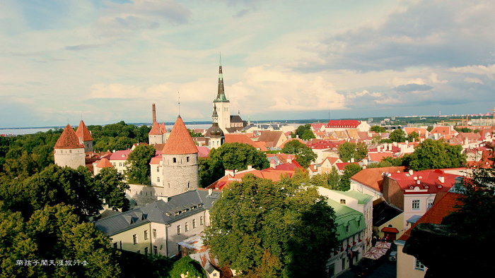 【波羅的海】愛沙尼亞。塔林古城(Tallinn, Estonia):Toompea上城區。長腳街V.S.短腳街