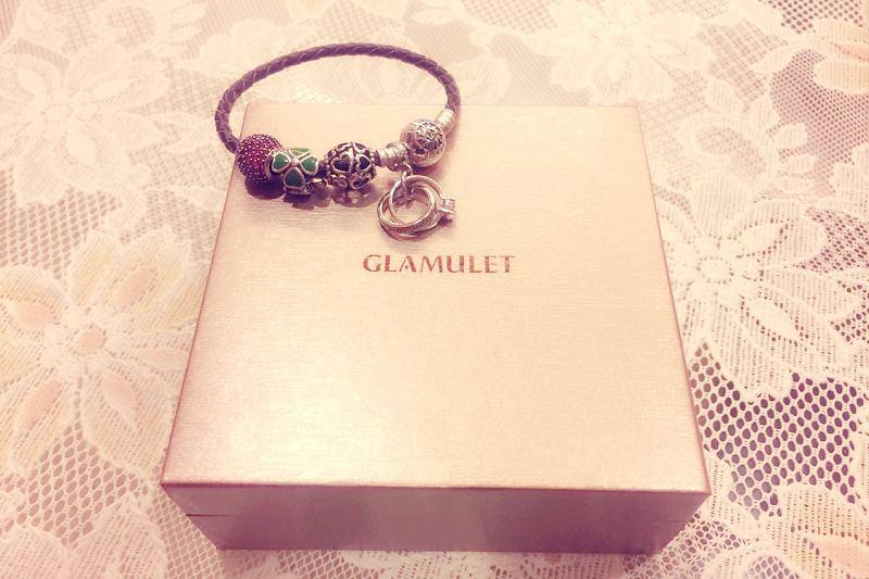 【開箱】打造專屬的低調奢華。來自加拿大的GLAMULET格魅麗串珠手鍊!(Pandora通用款)(內文有折扣方式)