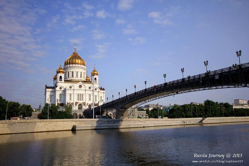 [Russia]莫斯科散散步3(西南區)。『基督救世主大教堂』、『彼得船柱』