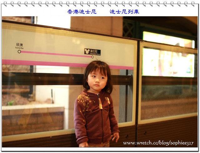 〔香港HK〕迪士尼列車。迪士尼線