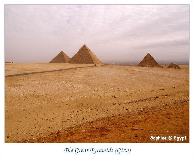 【Egypt埃及】世界七大奇景—吉薩金字塔
