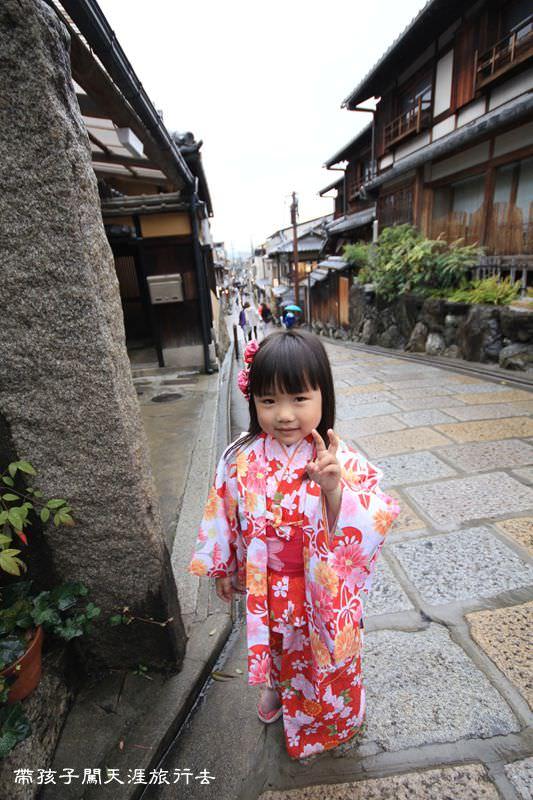 [京都。賞櫻]和服體驗到夢館。來京都就要穿和服啊~