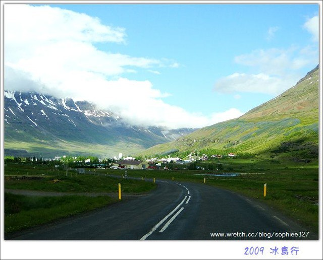 〔Iceland〕Seydisfjorour藏在群山中的峽灣小鎮