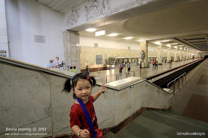 [Russia]莫斯科地下鐵。第一次搭乘就上手!