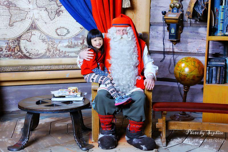 【芬蘭】北歐聖誕老人村(Santa Claus Village)。與聖誕老公公的親密接觸(全家大合照)!