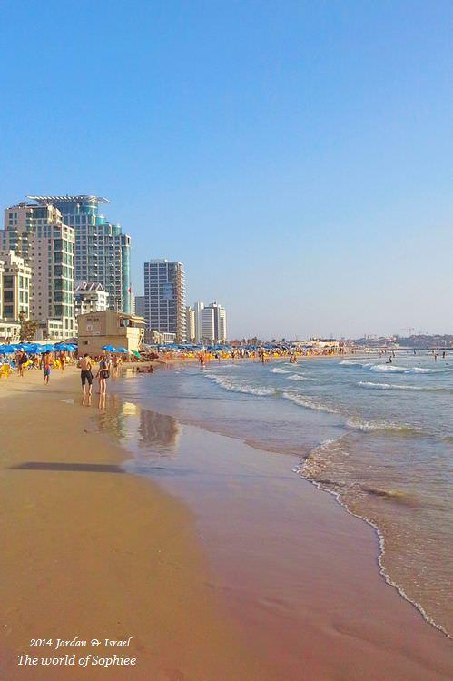 ﹝2014以約遊記﹞Israel。特拉維夫海灘戲水