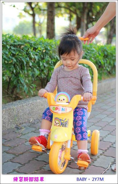 〔2Y7M〕開始練習騎乘腳踏車
