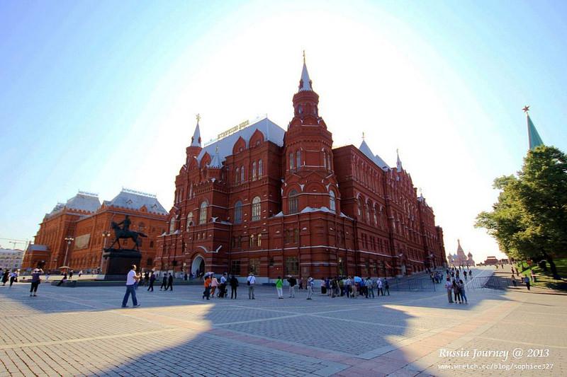 [Russia]莫斯科散散步1。『亞歷山大花園』及橋上風光